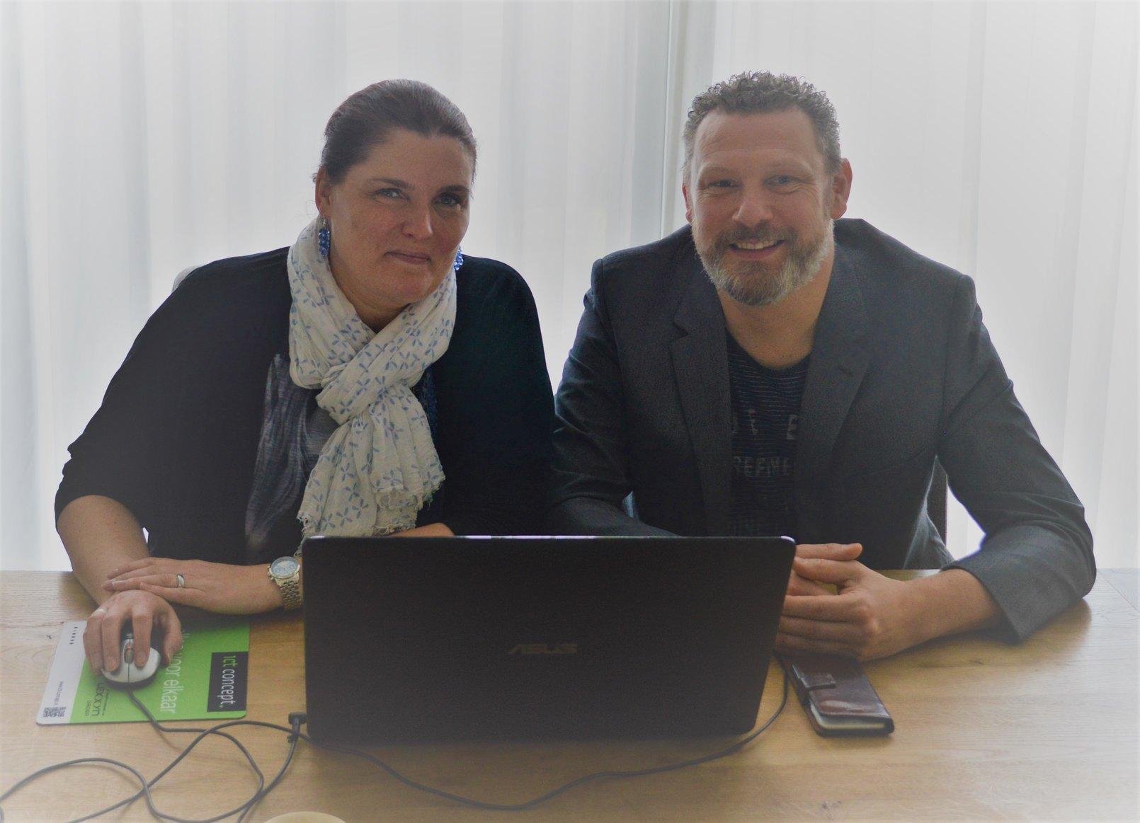 Paul en Natasja van Rosmalen, InXpress