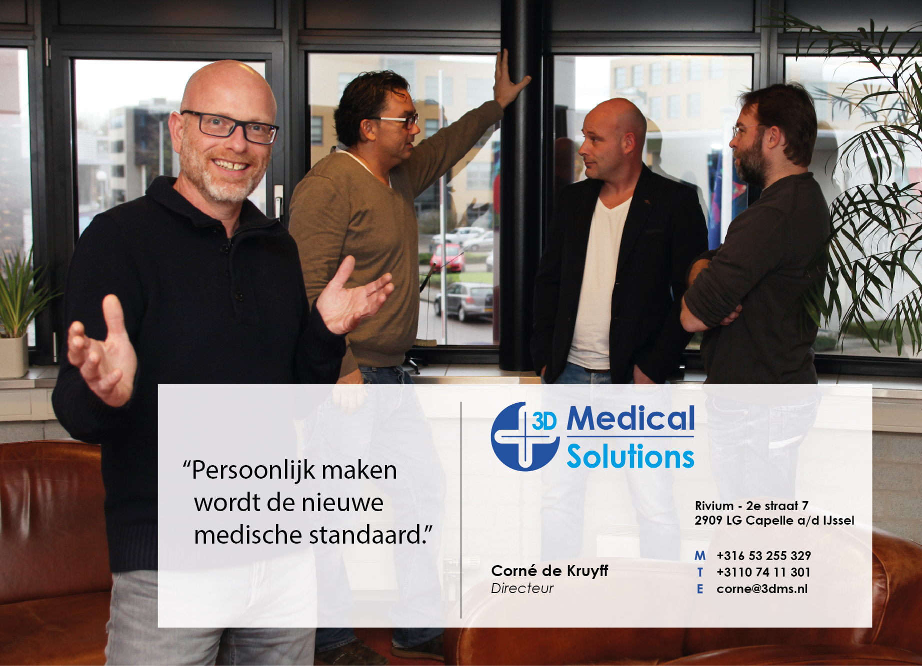 Corné de Kruyff, 3D Medical Solutions